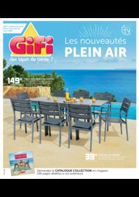 Prospectus Gifi : Les nouveautés plein air