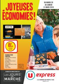 Prospectus U Express PARIS - Q. JEMMAPES : Joyeuses économies !