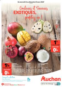 Prospectus Auchan Val d'Europe Marne-la-Vallée : Couleurs et saveurs exotiques, profitez-en !
