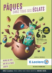 Prospectus E.Leclerc PANTIN : Pâques dans tous ses éclats