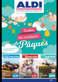 Prospectus Aldi Blagny : Toutes les couleurs de Pâques
