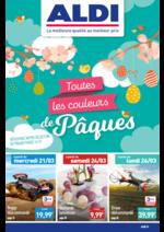 Prospectus Aldi : Toutes les couleurs de Pâques