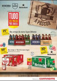 Folhetos Continente Bom Dia Almada Laranjeiro : Um brinde à páscoa