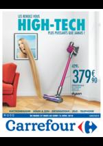 Prospectus Carrefour : Les rendez-vous high-tech plus puissants que jamais !