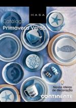 Folhetos Continente Modelo : Catálogo primavera verão