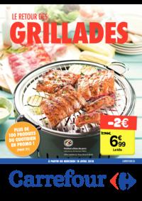 Prospectus Carrefour JAMBES : Le retour des grillades