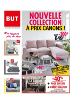 Prospectus BUT : Nouvelle collection à prix canons !