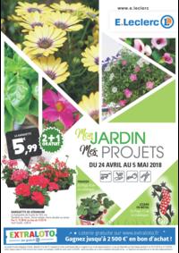 Prospectus E.Leclerc ORLY : Mon jardin Mes projets
