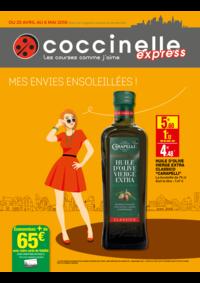 Prospectus Coccinelle Express Cachan : Mes envies ensoleillés !