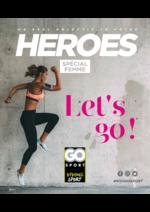 Guides et conseils Go Sport : Guide Go Sport Heroes spécial femme