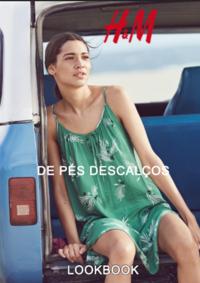 Catálogos e Coleções H&M Lisboa Grandella : Lookbook mulher De pés descalços