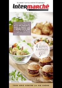 Menus Intermarché Super Ris Orangis : Vos moments traiteur