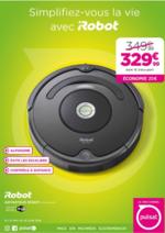 Promos et remises  : 20€ d'économies sur l'aspirateur iRobot