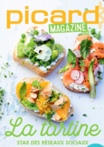 Prospectus Picard : La tartine Picard Magazine