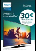 Promos et remises Boulanger : Philips Tv
