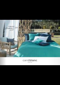 Prospectus Carré blanc Paris ARCUEIL : Collection printemps & été 2018
