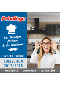 Catalogues et collections Privilège discount Ollioules : Collection 2017-2018