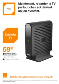 Promos et remises Orange : Regarder la TV partout chez soi devient un jeu d'enfant