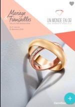 Catalogues et collections Carrefour : Bijou: collection mariage et fiançailles
