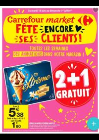 Prospectus Carrefour Market : Carrefour Market fête encore ses clients!