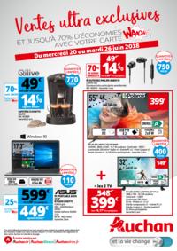 Prospectus Auchan Vélizy : Vente ultras exclusives