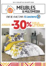 Prospectus E.Leclerc : Meubles