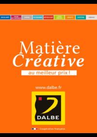 Prospectus Dalbe PARIS 54 BD EDGAR QUINET : Matière Créative