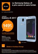 Prospectus Orange : Le smartphone indispensable cet été