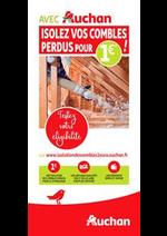 Promos et remises  : Avec Auchan, isolez vos combles !