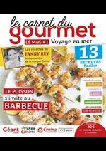 Prospectus Géant Casino : Le carnet du gourmet - Voyage en mer