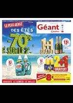 Prospectus Géant Casino : Le plus géant des étés
