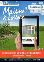 Prospectus  : Maison et loisirs