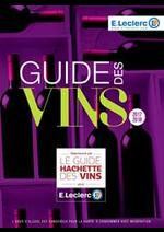 Prospectus E.Leclerc : Guide des vins 2017/2018