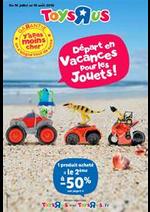 Prospectus Toys R Us : Départ en vacances pour les jouets!
