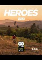 Prospectus Go Sport : Heroes Cycle