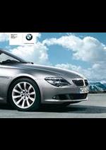 Prospectus BMW : BMW Serie6-Coupe-Cabriolet