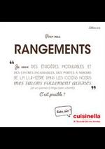 Prospectus cuisinella : Catalogue Rangements 2018