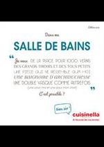 Prospectus cuisinella : Catalogue Salle De Bains 2018
