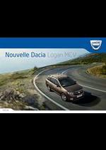 Prospectus Dacia : Nouvelle Dacia Logan MCV