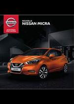 Prospectus Nissan : Nouvelle Nissan Micra