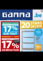 Prospectus GAMMA : Le dépliant du moment