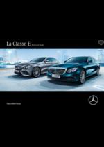 Catalogues et collections Mercedes Benz : Classe E berline et Break