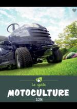 Guides et conseils Point Vert Le Jardin : Guide motoculture