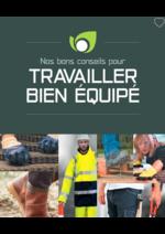 Catalogues et collections Point Vert Le Jardin : Travailler bien équipé