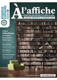 Prospectus E.Leclerc : À l'affiche: La sélection des espaces culturels