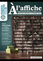 Prospectus E.Leclerc : À L'AFFICHE LA SÉLECTION DES ESPACES CULTURELS E.LECLERC SPÉCIAL RENTRÉE LITTÉRAIRE 2018