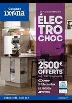 Prospectus Ixina : Électrochoc