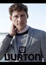 Prospectus Burton : Collection Homme