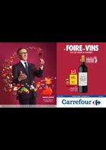 Prospectus Carrefour : FOIRE AUX VINS AUTOMNE