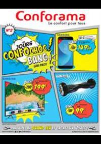 Prospectus Conforama : Les jours confochoc! Bang les prix!
